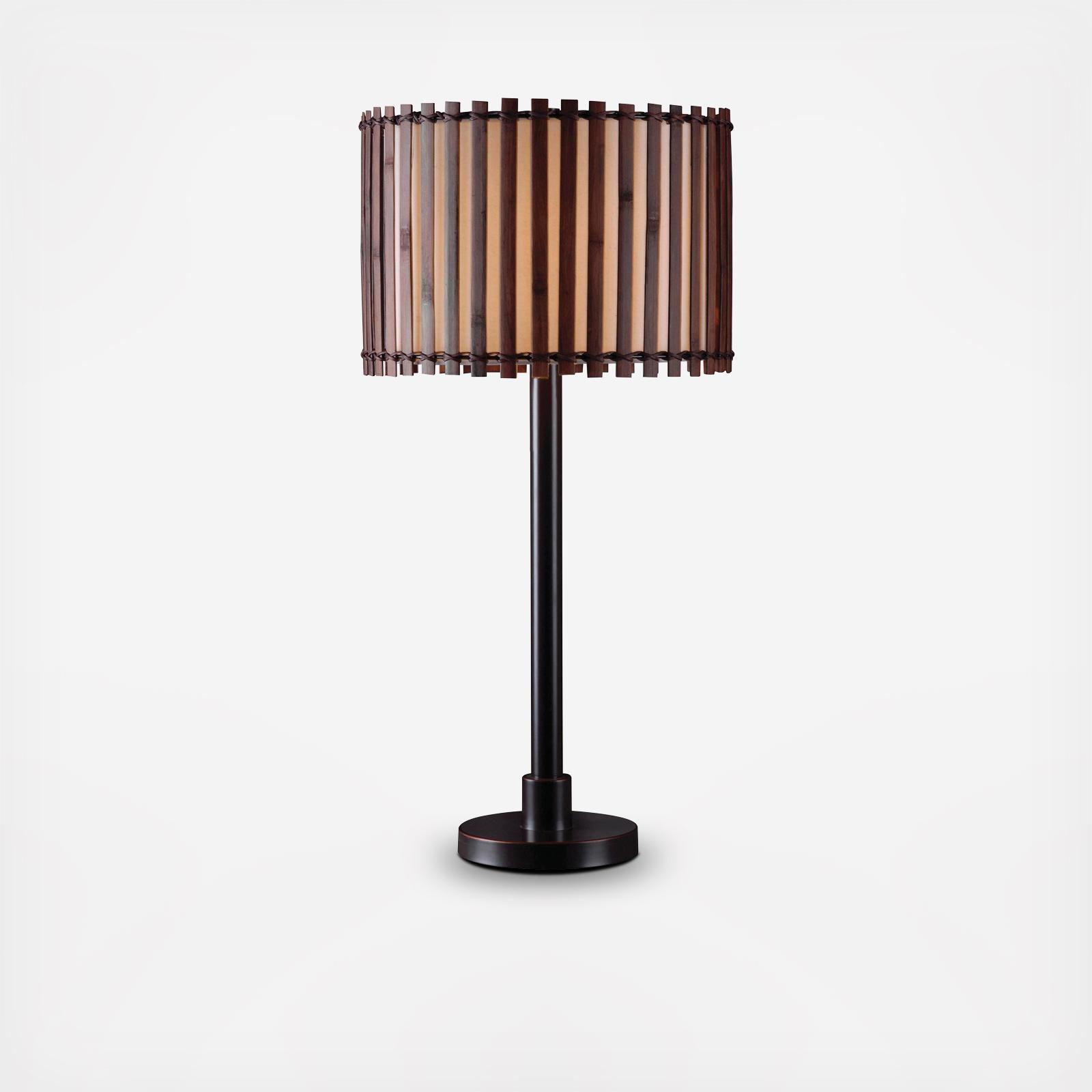 Kenroy Home Bora Outdoor Table Lamp Zola
