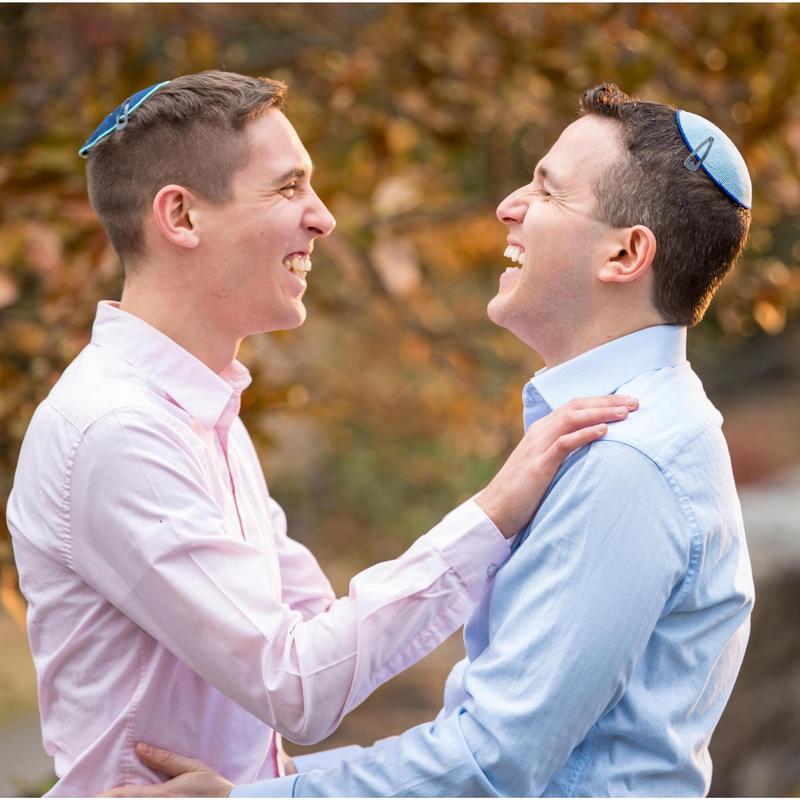 Nadiv and Ariel/ rabbi/Rabbi Performed First Gay Wedding. Broke New Grounds