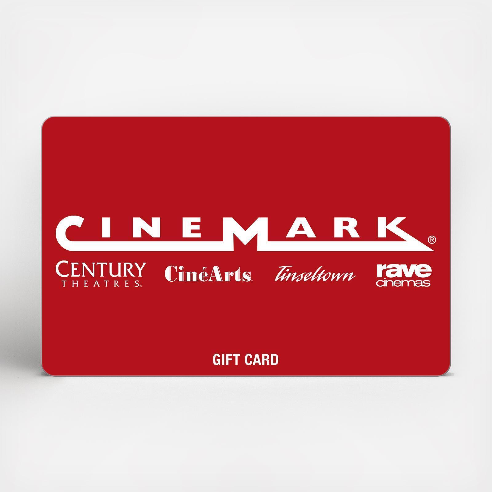 Cinemark Gift Card