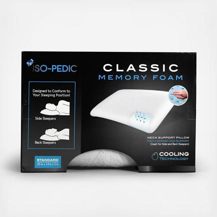 Pegasus Bedding Co., ISO PEDIC Classic Memory Foam Pillow | Zola