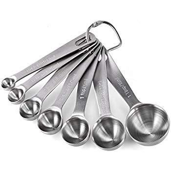 NEW CIA Masters Collection 6 Piece Measuring Spoon Set FREE SHIPPING
