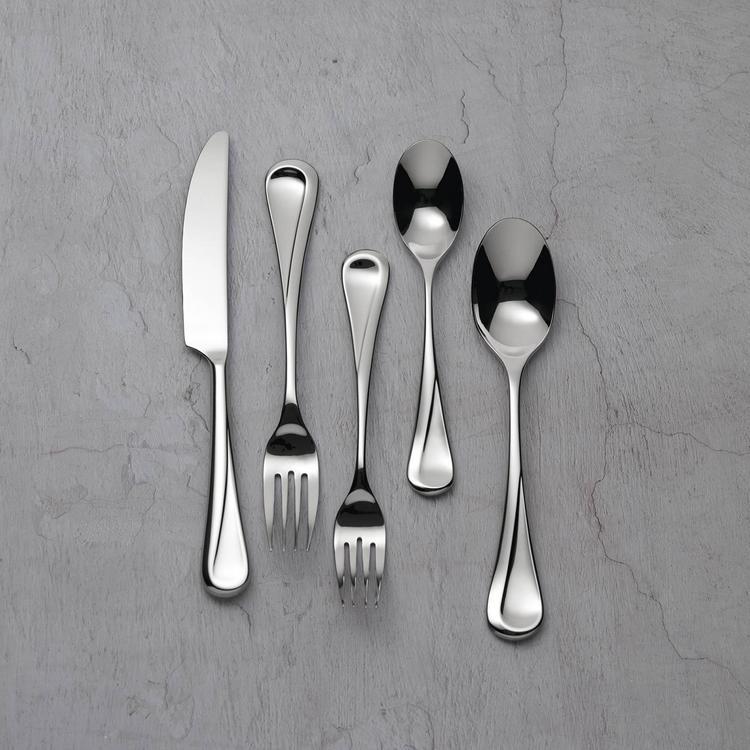 Silver Dansk Dansk Kobenstyle 5 Piece Flatware Set