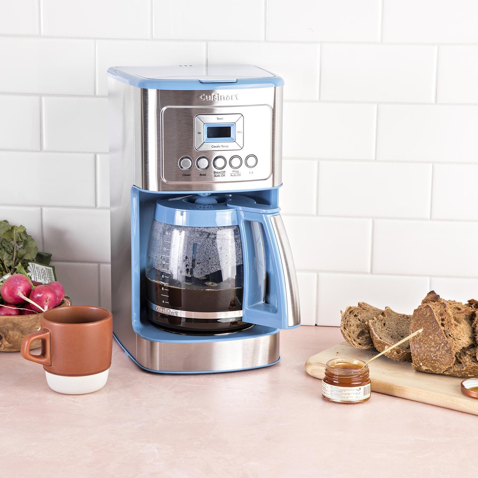 Cuisinart Dusk Blue Perfectemp 14 Cup Programmable Coffee Maker Zola
