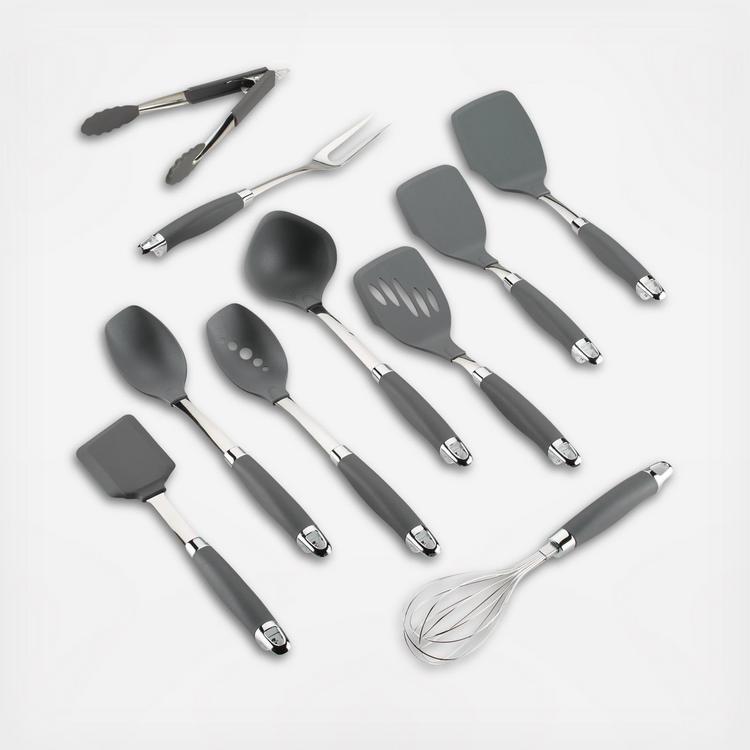 Anolon Suregrip 10 Piece Nonstick Kitchen Utensil Set Zola