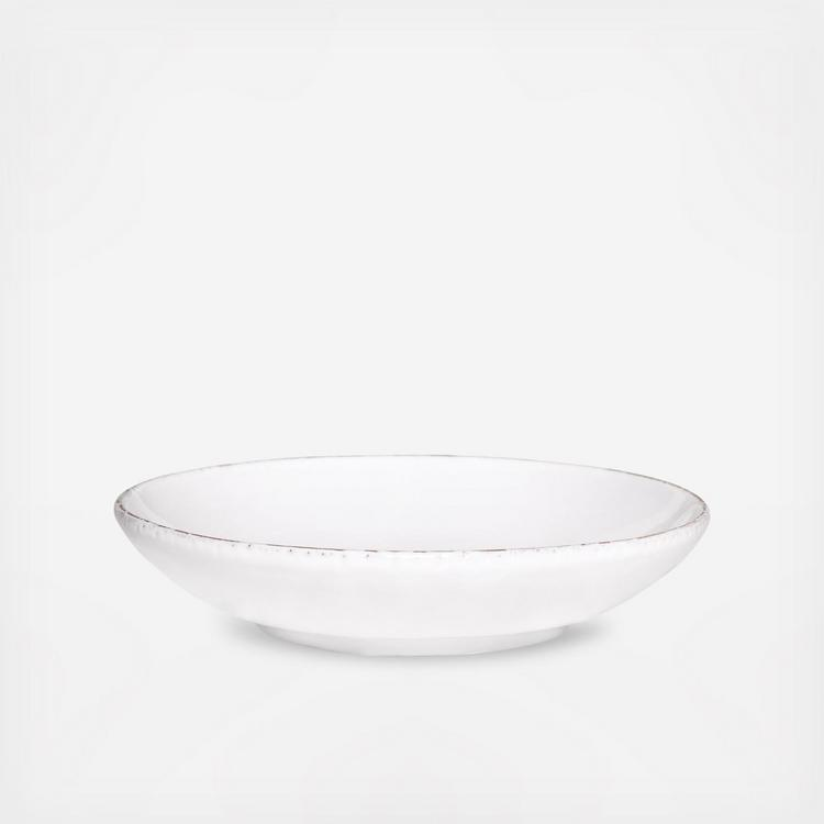 Vietri Lastra White Pasta Bowl Set of 4