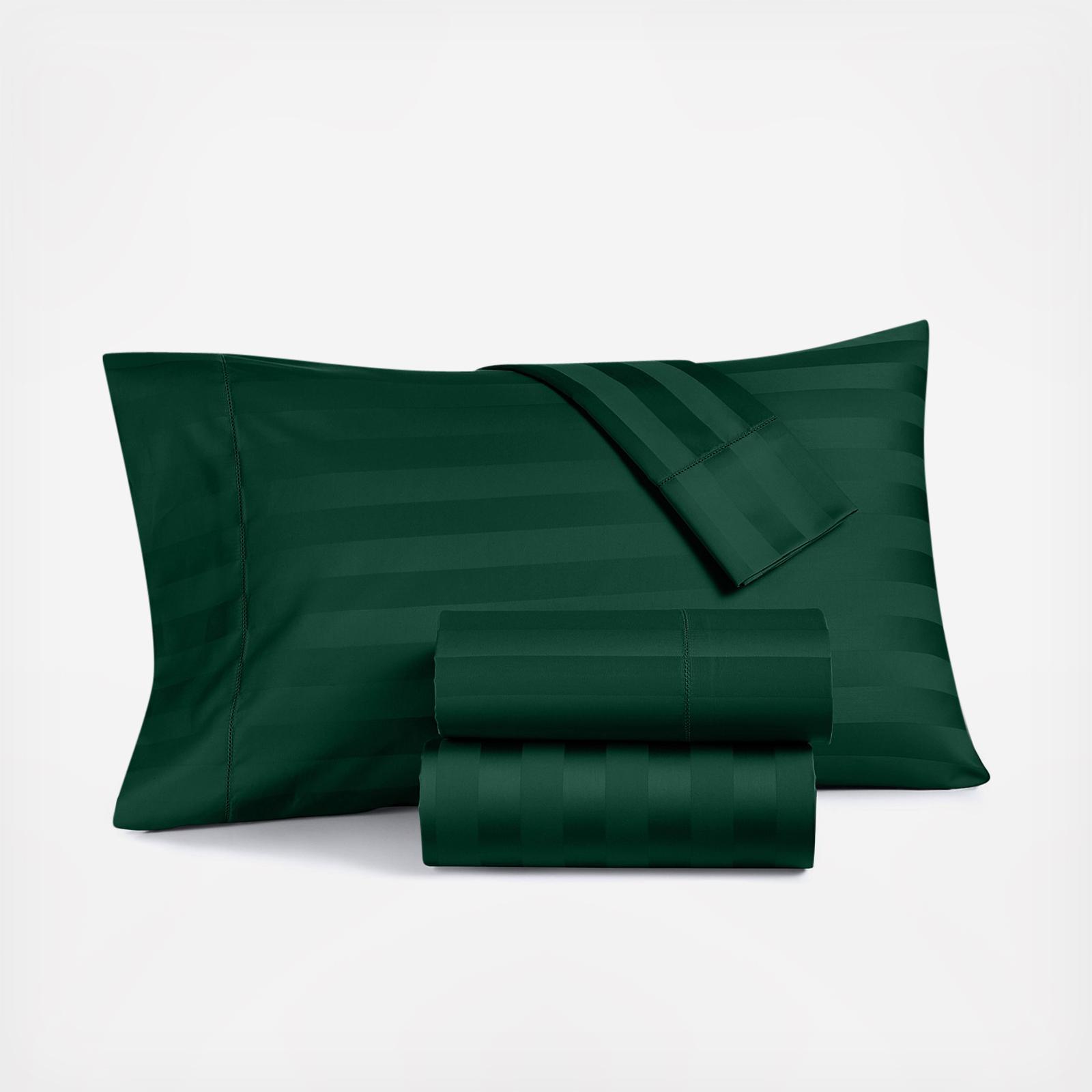 Macy S Charter Club Damask Stripe Pillowcase Set Of 2 Zola