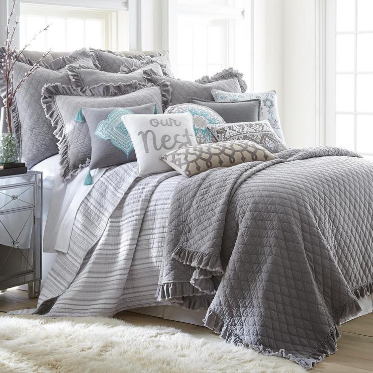 Levtex Home Stonewashed 3 Piece Cotton Quilt Set Zola