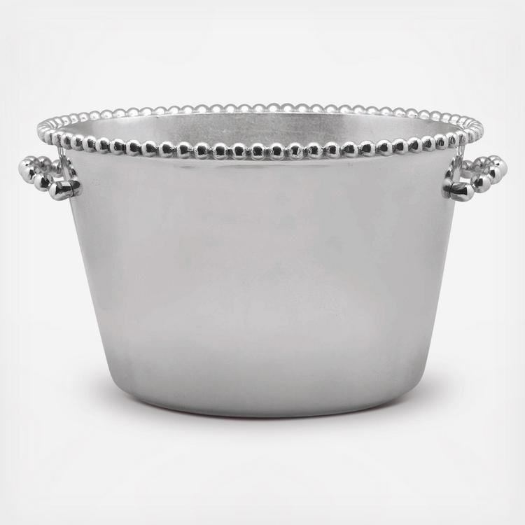 Mariposa String Of Pearls Medium Ice Bucket Zola